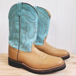 Vintage Acme Western Leather Cowgirl Boots